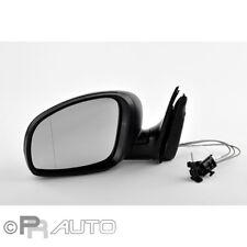 Skoda Fabia (54) 12/06- Außenspiegel Spiegel links schwarz manuell Kabel