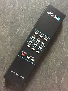 ARCAM DELTA 110 DIGITAL PREAMPLIFIER GENUINE REMOTE FULLY REFURBISHED AND TESTED