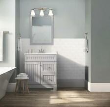 """30"""" Style Selections $279 Ellenbee 💦 Gray Single Sink Bath Vanity C21J30D-Ss"""