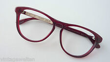 Schmetterlingsbrille für Frauen mit großen Gläsern dunkelrot cateys 58-16 Gr. L