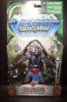 Masters of the Universe Sky Strike Stratos 200X Figure Snakemen Card MOTU Mattel