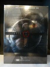 Akte X - Season 1 Sammler-Edition Erstauflage (7 DVDs + Booklet) - Neuwertig