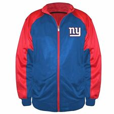 New York Giants NFL Big & Tall Majestic Back Track Tricot Jacket Size 5X - NWT