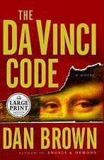 The Da Vinci Code (Large Print) by Dan Brown