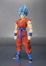 "Super Saiyan God Goku Dragonball S.H. Figuarts SSGSS ""Z DBZ Bandai Action Figure"