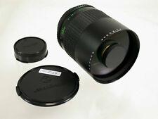 MAKINON Reflex MC 8/500 Canon FD 500 500mm F8 Spiegeltele mirror lens top /16
