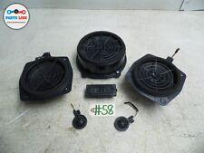 AUDI TT 08-12 SPEAKER SPEAKER AUDIO SOUND SYSTEM SET OF 6 W/O BOSE OEM