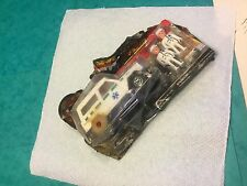Majorette toy ambulance boxed with 2 paramedics 4 wheel drive French toy