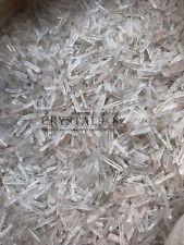 450-650pcs Lot Natural Clear Quartz Crystal Points 1/2Lb Terminated Wand Healing