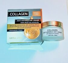 Dead Sea Collection Collagen Anti-Wrinkle Day and Night Creams w/ Vitamin C