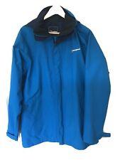 Berghaus Gore-Tex chaqueta señoras tamaño 18 Azul en muy buena condición