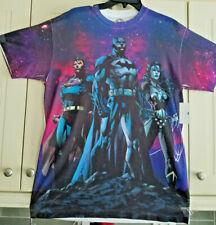 DC Comics Originals Batman, Superman, Wonder Woman T shirt   size large NEW