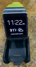 Samsung Galaxy Gear v700 Stainless Steel Lime Green Modern Buckle SM-V7000ZGAXAR