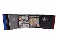JC MEDIUM STAMP ALBUM 16 BLACK PAGES