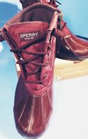 *SPERRY* Women's~Syren Gulf Quilted Nylon ~Waterproof~Duck Boots (Size 6M)
