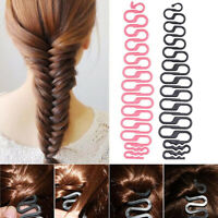 Fashion Magic French Hair Styling Clip Stick Bun Maker Hair Braiding Twist Tool_
