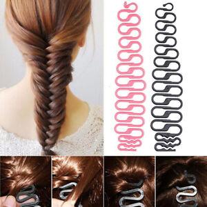 Fashion Magic French Hair Styling Clip Stick Bun Maker Hair Braiding Twist Tool.