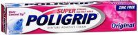SUPER POLIGRIP Denture Adhesive Cream Original 2.40 oz (Pack of 2)