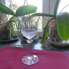 1 verre à eau en cristal de saint louis modèle tommy  H 18 cm