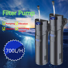 700L/H 3W UV Aquarium Sterilizer Internal Water Internal Pump Filter Fish