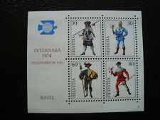 SUISSE - timbre yvert/tellier bloc n° 22 n** MNH (COL1)
