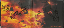 Megadeth - Greatest Hits -  CD Fully Autographed by 4