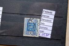FRANCOBOLLI STAMPS ITALY SOMALIA USATI (F48446)