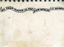 *DEKALB IL ANTIQUE *FIRST LUTHERAN CHURCH COOK BOOK *HE THAT DIPPTH IN THE DISH