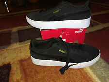 NEW $69 Womens Puma Vikky Platform shoes, size 9        black/white