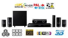 SAMSUNG HT-J5500 3D Multi Zone Region Free Blu Ray Player Code Free DVD