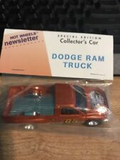 Hot Wheels Newsletter 19th Annual Convention Dodge Ram Truck Copper Baggie
