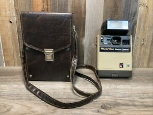Kodak Partytime Instant Camera With Case And Flash - Untested