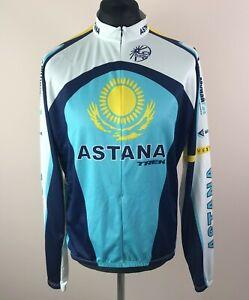 Bontrager ASTANA TREK Long Sleeve Cycling Jersey Men's Size 2XL 3/4 Zip Bike Top