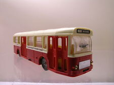 NOREV 98 SAVIEM SC10U AUTOBUS PARIS PLASTIC RED/CREAM SCALE 1:43