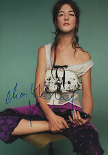 Charlotte Gainsbourg signed 8x12 inch photo autograph