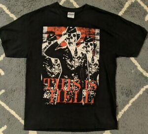 This Is Hell Shirt Large - Comeback Kid Poison The Well Bury Your Dead Bane
