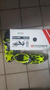 VITTORIA ITALIAN ROCK CARBON Sole MTB CYCLING SHOES (us) 9.5 UK 8.5 EU size 42