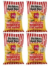 CALIFORNIA SNACK FOODS Cheese and Jalapeño Popcorn 49.7 gr. / 1.75 oz. 4 PACK.