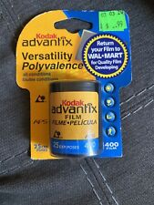 Kodak Advantix 400 Speed 25 Exposure Aps Film Color Print Aps Cameras 04/2006
