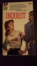 "Milton K. Ozaki, ""Inquest,"" 1960, Gold Medal 981, VG+, 1st"