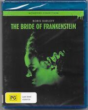 The Bride Of Frankenstein (Blu-ray, 2017) New (Aus Release) Region B Free Post