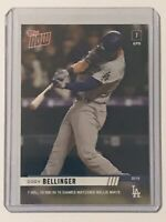 2019 Topps NOW Cody Bellinger #59 Los Angeles Dodgers PR Of Just 386!