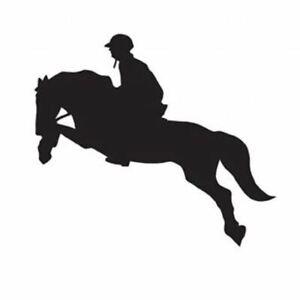 Car Sticker Show Jumper Unisex Styling Accessories Horse Logo Measure 10cmX10cm
