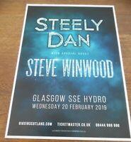 Steely Dan In Concert 0634 Vintage Music Poster Art