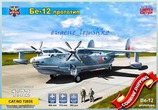 Modelsvit 72035 Beriev Be-12 Prototype Plastic Model Kit / Limited Edition 1/72