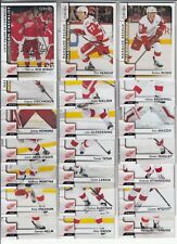 17/18 OPC Detroit Red Wings Team Set w/ Checklist and RC - Renouf Mrazek Russo +