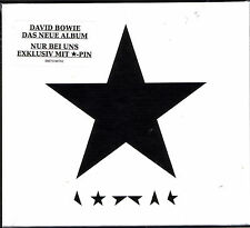 "DAVID BOWIE ""★ (Blackstar)"" MSD EXCLUSIVE CD Box mit Pin sealed"