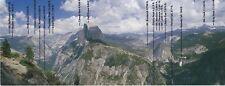 Yosemite National Park Half Dome Glacier Point Geo Modern Post Card 4x10