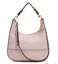 Nwt GUESS Ashling Crossbody Hobo Handbag Purse Nude Beige pink