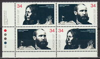 CANADA #1108-1109 34¢ Peacemakers of the Prairies LL Plate Block MNH